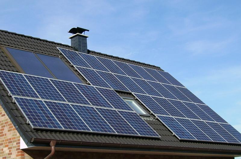 Solar-Reinigung-Leistungsunterseite